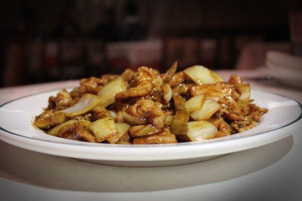 Cerdo con Cebolla | Restaurante Chino Gran Muralla